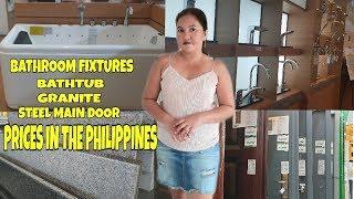 Bathroom Fixtures, Bathtub, Steel Main Door And Granite Prices In The Philippines // WILCONS DEPOT
