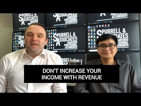 Edmonton Business Coach | Don't Increase Your Income with Revenue