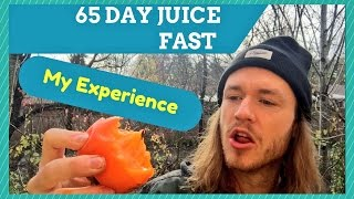 MY 65 DAY JUICE FAST EXPERIENCE (RESULTS)