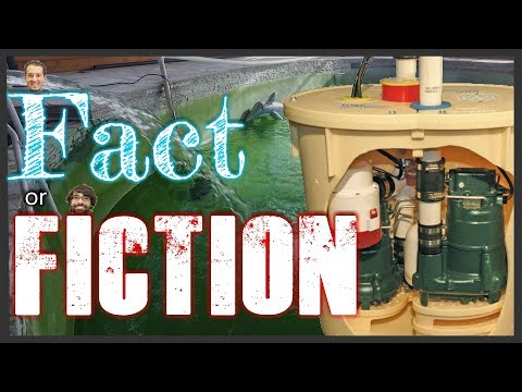 Welcome to the very first installment of Fact or Fiction. This series is all about testing different scenarios to see if they end up being fact (true) or Fiction (false). Throughout the series Chad will be taking the Fact side and Nic will be taking Fiction. To make things more interesting they will be wagering something at the beginning of each episode for their side to take the win. So whoever loses has to pay the consequences. This episode the guys will be testing whether or not a TripleSafe™ Sump Pump System can pump out a 35000 Gallon pool in 4 and a half hours. Will the TripleSafe™ succeed and allow Chad to take the win? or Will the TripleSafe™ fail and send Nic to victory?! Watch and find out! :) Make sure to subscribe to our YouTube channel for future episodes!   Information about theTripleSafe™ Sump Pump System: Our most reliable sump pump system, the TripleSafe™ Sump Pump System, provides three levels of protection for your basement and your peace of mind. For normal functioning, the TripleSafe™ has a powerful, cast-iron Zoeller® ⅓ horsepower sump pump set at the lowest level. For heavy volumes of water or in case of primary pump failure, a second, more powerful Zoeller® ½ hp pump set a bit higher in the liner will take over. In case of a power outage, our UltraSump® battery backup sump pump, set at the highest level, will pump 11,500 gallons or more on a fully charged battery!  TripleSafe™ Specifications  Cast-Iron Zoeller® ⅓ hp Primary Pump-- Reliable and powerful, this sump pump system can discharge 2,220 gallons of water per hour at an 8-foot head from your basement. A Powerful Cast-Iron Zoeller® ½ hp Secondary Pump-- If the primary sump pump fails or is overwhelmed by extremely heavy waters, the secondary pump will turn on, discharging up to 3,900 additional gallons of water per hour at an 8-foot head! Long-Lasting UltraSump® Battery Backup System-- In the case of a tripped circuit, power outage, or sump failure, your TripleSafe™ also includes anUltra