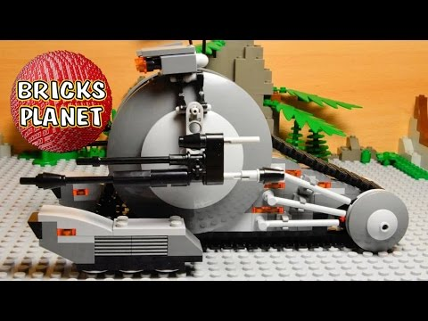 Vidéo LEGO Star Wars 75015 : Corporate Alliance Tank Droid