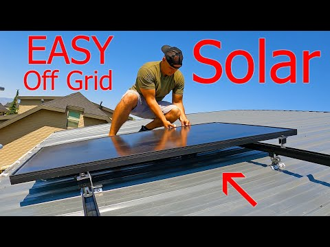 Off Grid Solar Battery! – So easy its *Almost* Cheating…
