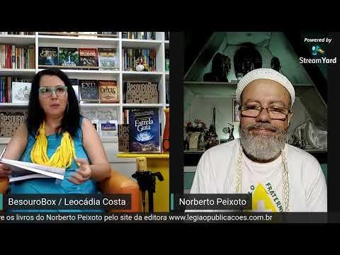 """Conversando com Norberto Peixoto - Lançamento do livro """" Estrela Guia """""""