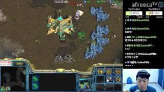 안기효앞마당 먹고 몰래 투스타캐리어 전략 (테란전 E급 강의)ㅣ일반유저를 위한 쉽고 알찬강의 Starcraft 17 02 23