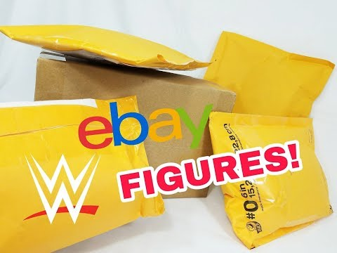 UNBOXING A BUNCH OF WWE FIGURES | EBAY HAULS