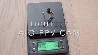 Eachine TX06 - lightest AIO FPV cam