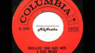 Aretha Franklin - Rock-A-Bye Your Baby With A Dixie Melody / Operation Heartbreak - 7″ - 1961