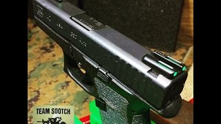 TruGlo TFO (Tritium Fiber Optic) Sights Review & Glock Install