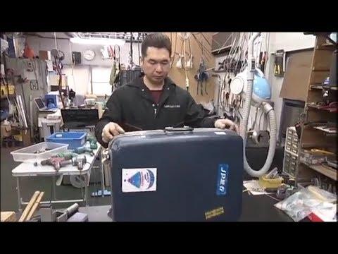 Amazing Japanese Suitcase Repairmen