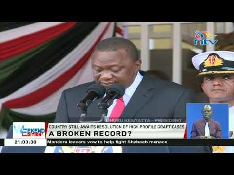 President Uhuru Kenyatta announces a fresh round vetting lifestyle audits
