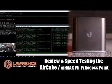 Review & Speed Testing of the Ubiquiti AirCube ACB-AC / airMAX Home Wi-Fi Access Point