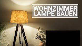 DIY Wohnzimmer Lampe bauen