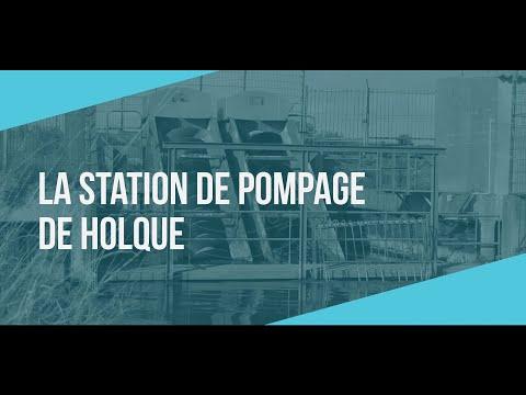 Polder itinéraire | La station de Holque