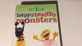 happy healthy monsters sesame street vhs - TH-Clip