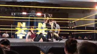 NXTVenice :NikkiCrossWWE pinned DeonnaPurrazzo