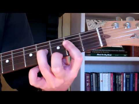 How To Play the A9 Chord On Guitar (A ninth)