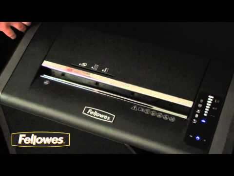 Video of the Fellowes Powershred 485i Shredder