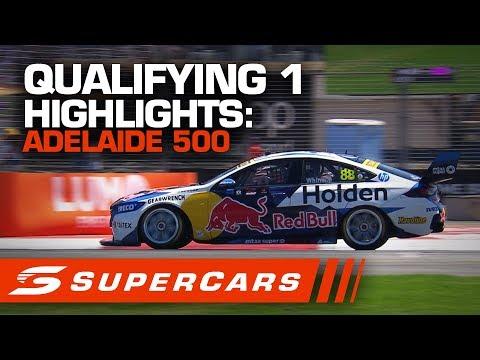 2020年SUPERCARS 第1戦 スーパーループアデレード500 予選 ハイライト動画