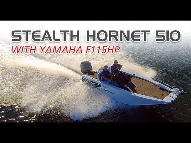 Stealth Hornet 510 + Yamaha F115 4-Stroke boat review | Brisbane Yamaha