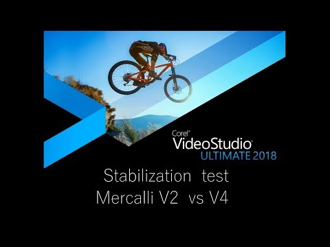 Stabilisation Comparison Sony Vegas Pro 14 vs Mercalli V4 vs