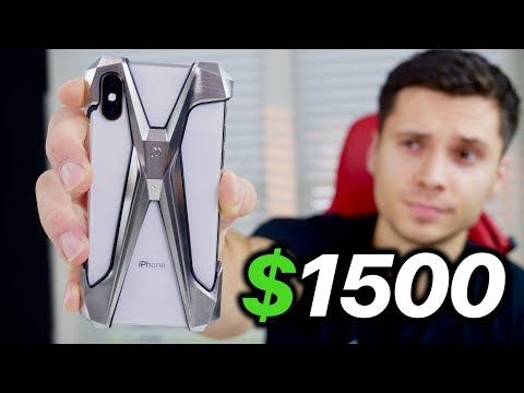 $1500 IPhone XS Case.. Drop Test & XS Max Giveaway! Mp3