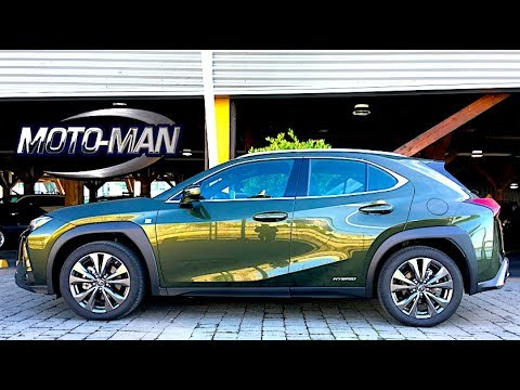 2019 Lexus UX 200 & Lexus UX250h Hybrid TECH REVIEW A funky looking Baby Buggy that wants to be a P1