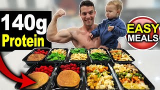 EASY HIGH PROTEIN MEAL PREP 2020 | LOSE WEIGHT & BUILD MUSCLE!