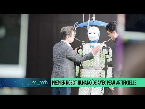 First humanoid robot with artificial skin [Sci-tech]