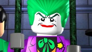 LEGO Batman The Videogame - All Cutscenes Full Movie HD