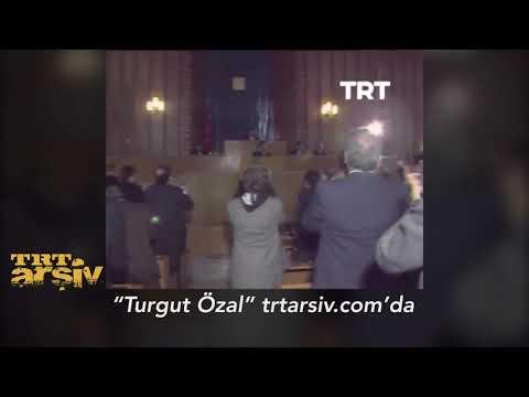 Turgut Özal'ın Cumhurbaşkanı Seçildiği An