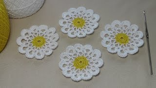 Как связать ажурный мотив круг - вязание крючком для начинающих - Education crochet
