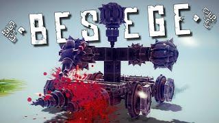 The Ultimate WAR MACHINE In Besiege