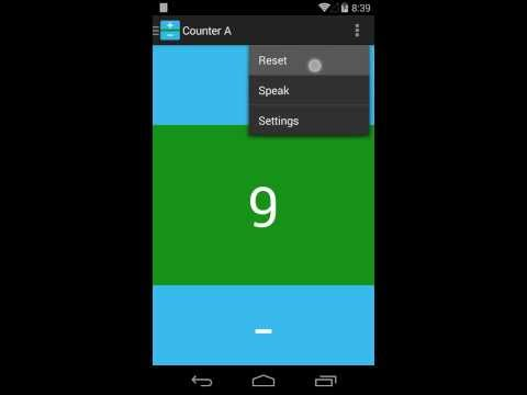 Video of Counter: Elegant Counting App!