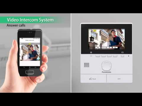 VL-SVN511 Panasonic Video Door Phone VDP