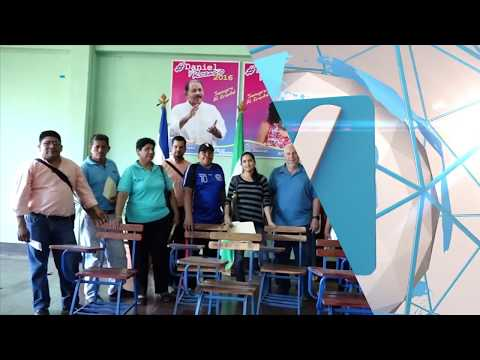 Gobierno entrega pupitres a 10 centros educativos del municipio de Masaya