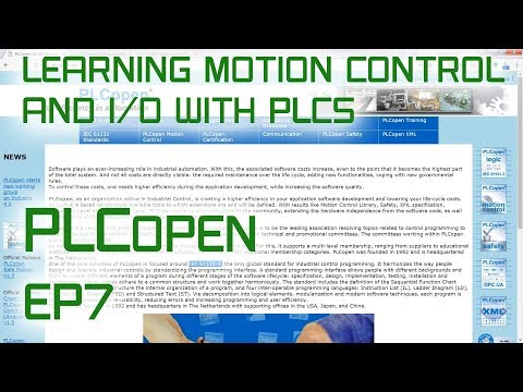 1 3 PLCopen Overview (PLCopen Basics) - смотреть онлайн на Hah Life