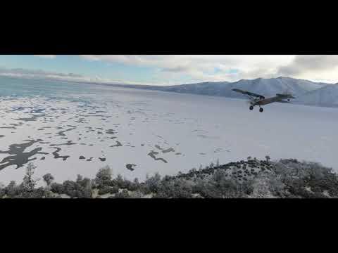 Trailer pour l'arrivée de la neige de Microsoft Flight Simulator