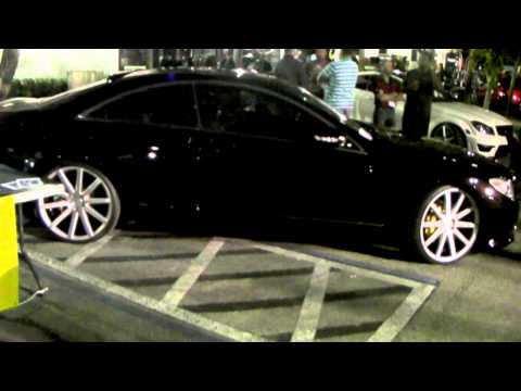 DUBSandTIRES.com Mercedes CL 550 Review 22 inch XO Polished Wheels Asanti Forgiato TSW Wheels