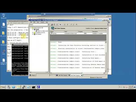 HP Data Protector - Install Data Protector Cell manager and client agent - Part 2