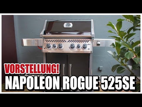 Napoleon Rogue 525 SE | Was kann der neue Gasgrill?
