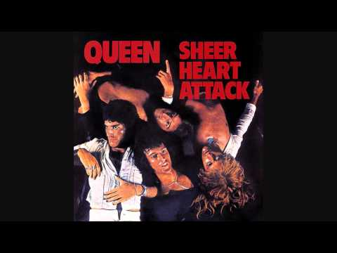 Queen - Now i'm Here - Sheer Heart Attack -  Lyrics (1974) HQ