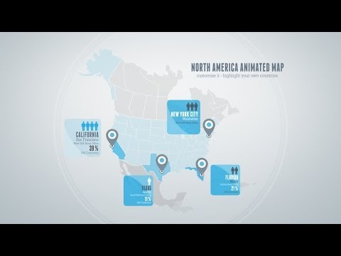 Download Travel Map After Effects Template Free - casualload