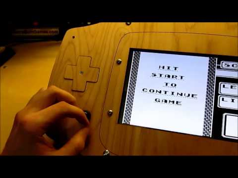 Make A Gigantic Wooden GameBoy (Because Why Not?)
