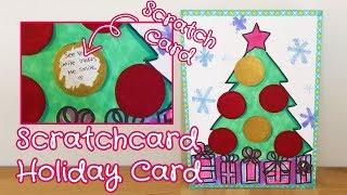 Holiday Card for Boyfriend/Girlfriend - Secret Message Scratch off Card | Sunny DIY