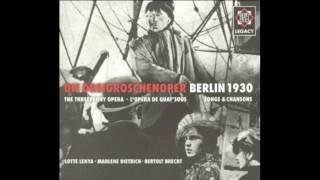 Seeräuberjenny (Pirate Jenny) - Weill/Brecht