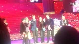 """2013-01-17 - Backstreet Boys performing """"All I Have to Give"""" A Cappella in China"""