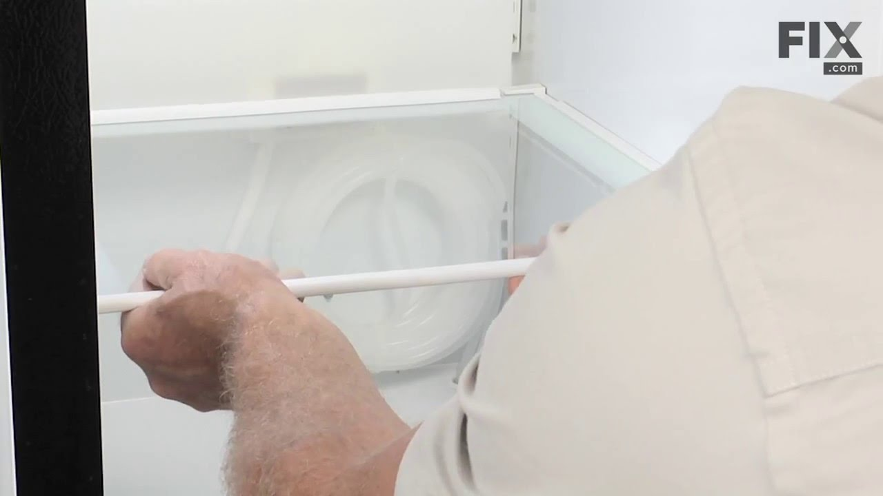 Replacing your General Electric Refrigerator Drawer Slide Rail - Right Side