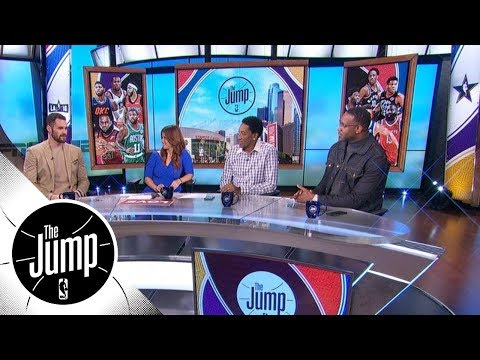 Tracy McGrady and Scottie Pippen interview Kevin Love | The Jump | ESPN