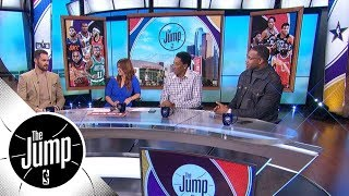 Tracy McGrady and Scottie Pippen interview Kevin Love   The Jump   ESPN - Video Youtube
