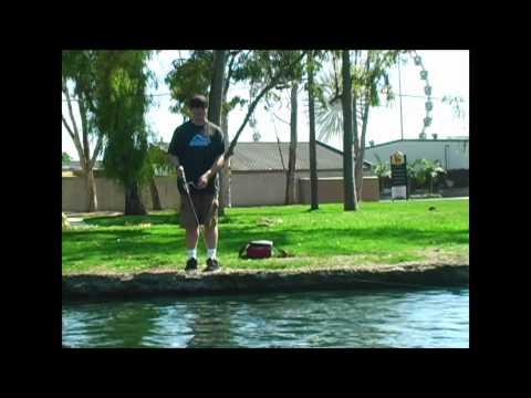 Reelninfish Episode #14: Fishing At A Pond In Costa Mesa, California
